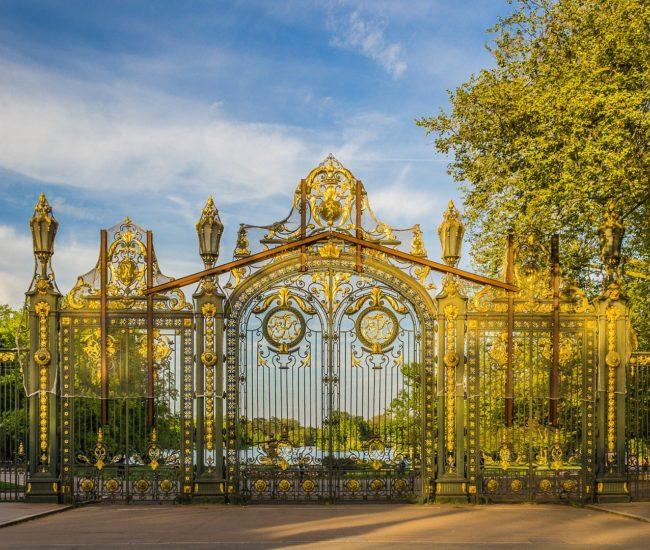 Porte principal du Parc de la Tête d'Or