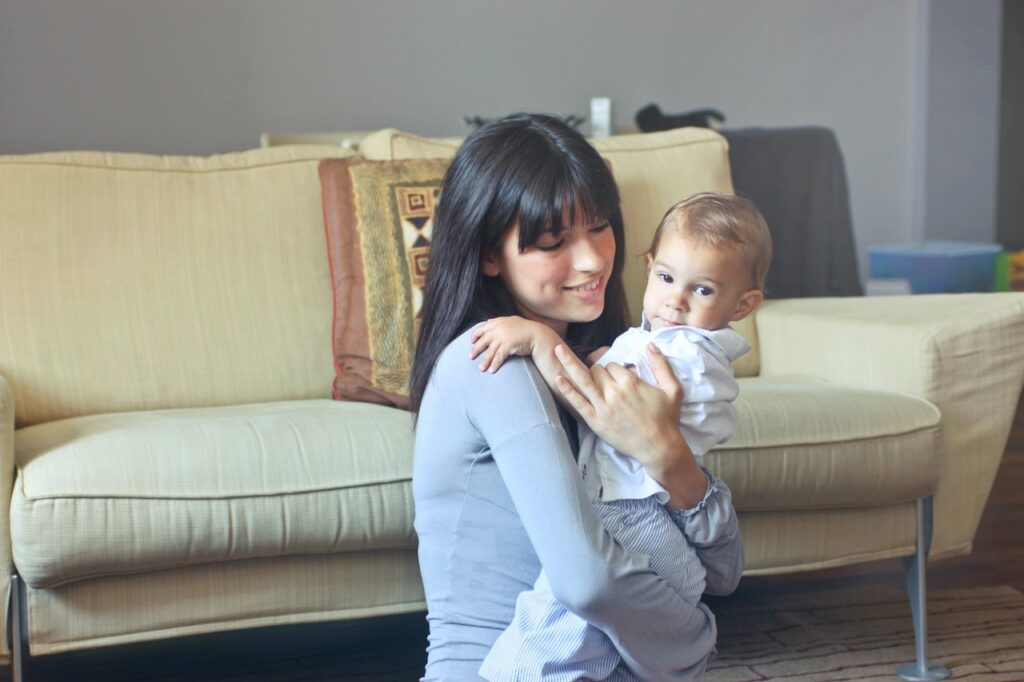 Book a baby-sitter during the holidays